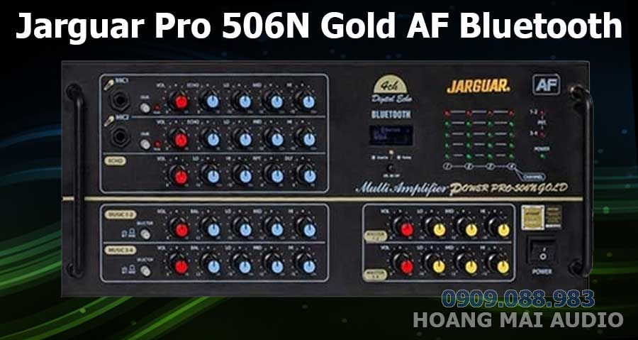 Amply Jarguar Pro 506N Gold AF Bluetooth